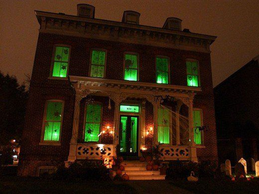 Green Lights Halloween Party