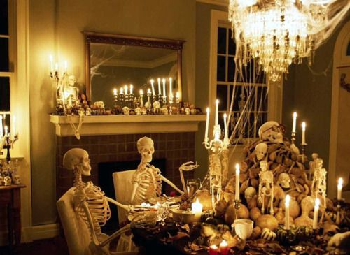 Halloween Party Dinner with the Dead