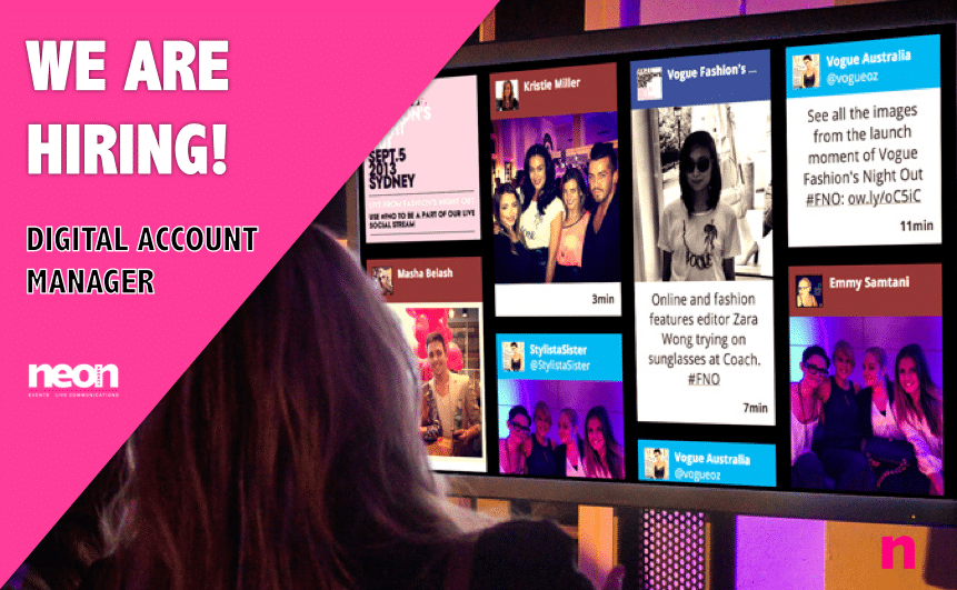 Come Join the Team …. Digital Account Manager Wanted!